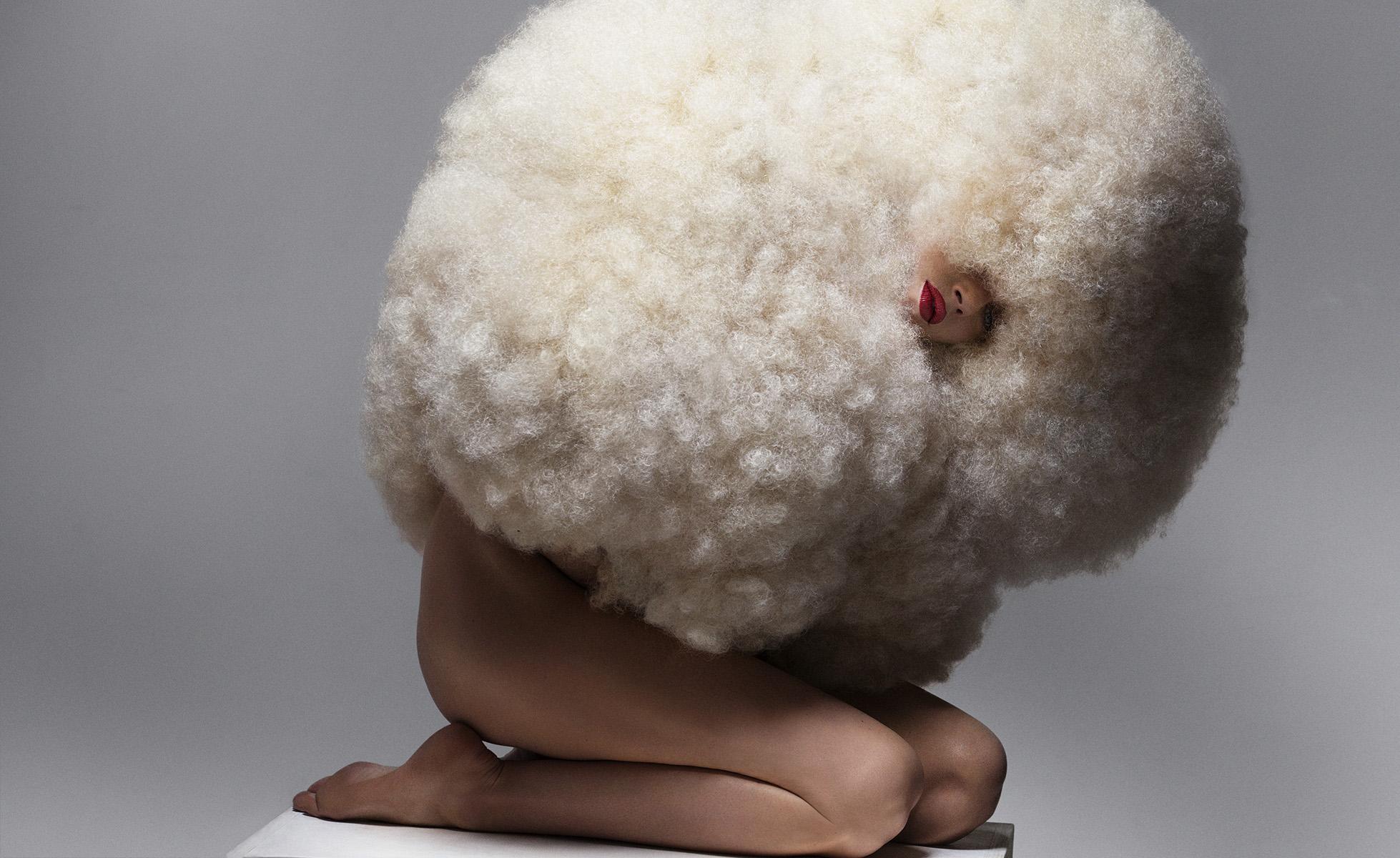 Olivier Rose . hair